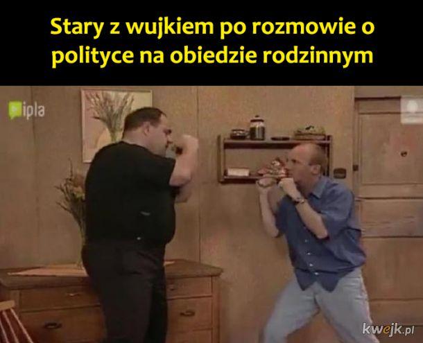 Rozmowa o polityce