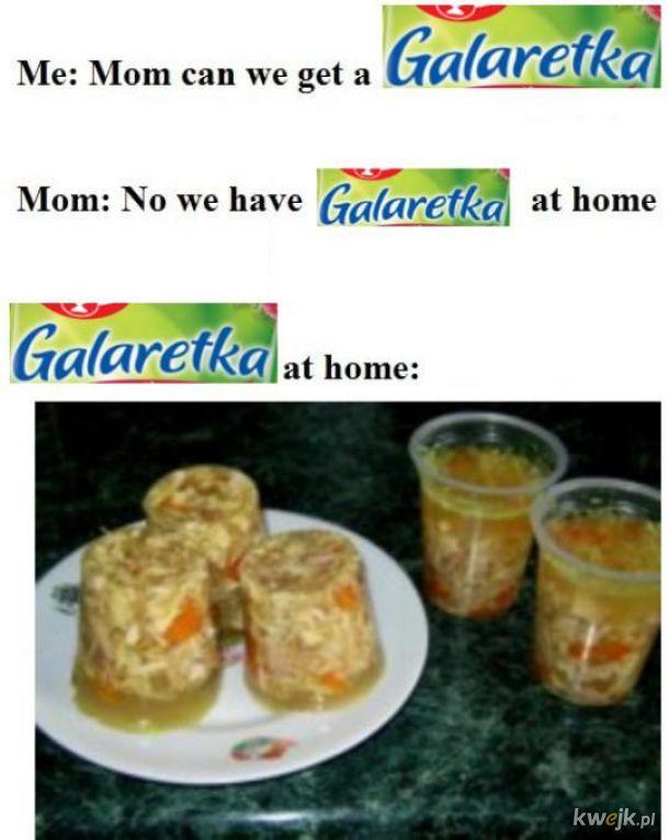Galaretka w domu