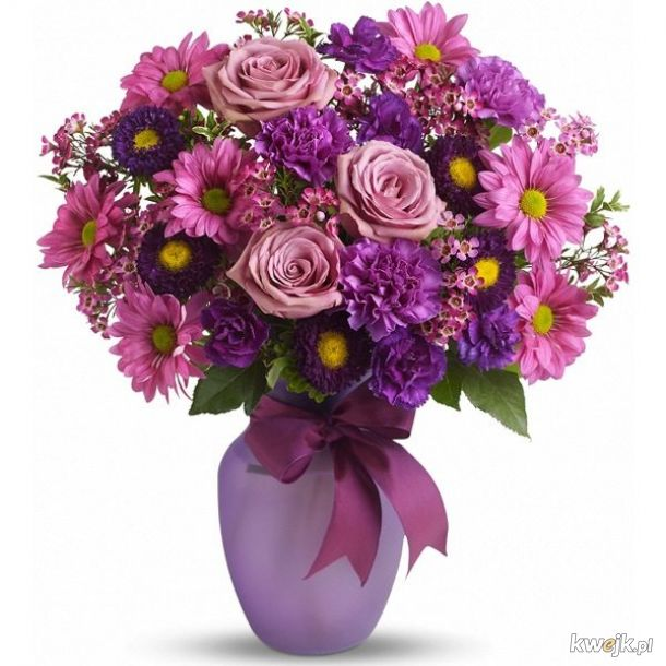 Piękne kwiat dla naszych ślicznych Pań :)