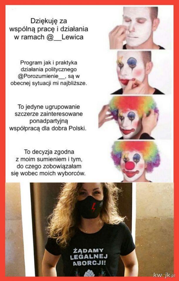 Posłanka lewicy Monika Pawłowska: wyabortowałam się z czerwonego tramwaju na przystanku przy Orlenie.