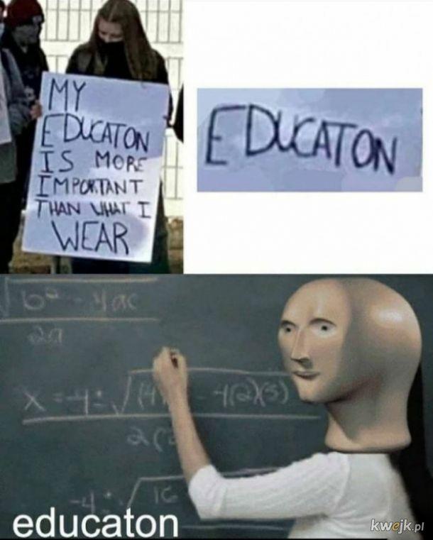 Edukacja mocno