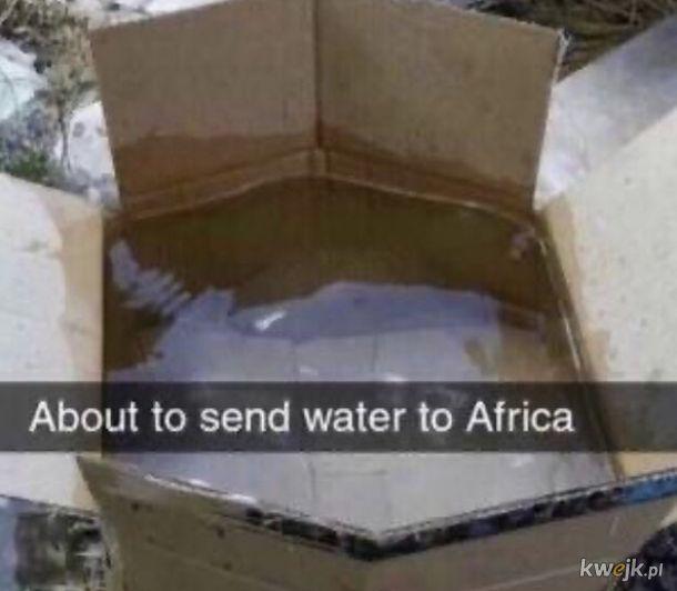 Woda dla Afryki.