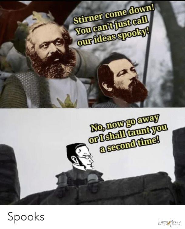 Communism is spooky