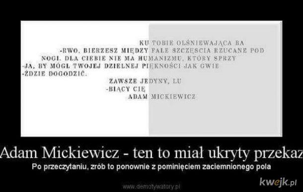 Mickiewicz - człowiek zagadka