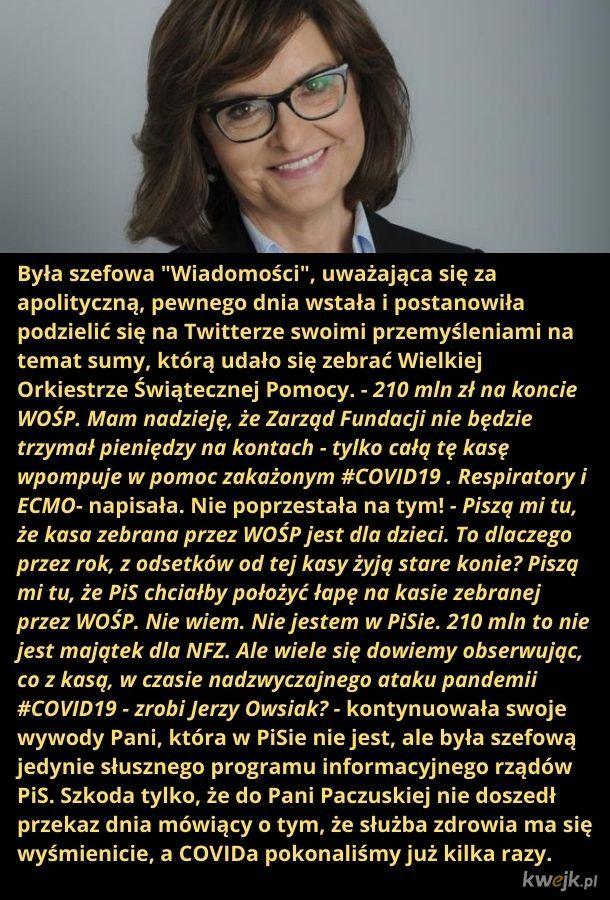 """Żal """"Wiadomości"""" ściska, że Owsiak zebrał kasę"""