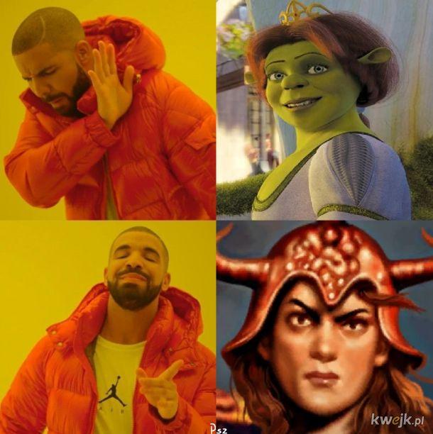 Prawdziwa Fiona jest tylko jedna