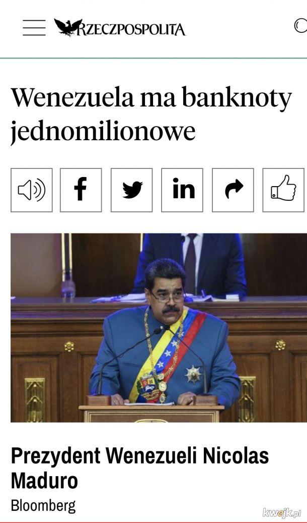 """Wenezuelscy """"milionerzy"""""""