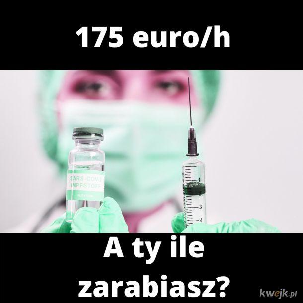 Niemcy poszaleli ze stawkami dla szczepiących lekarzy...