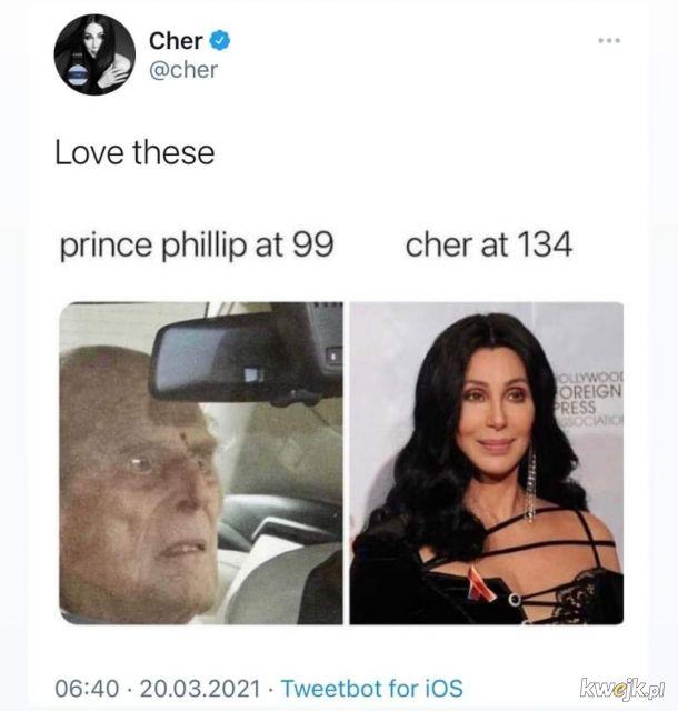 Cher pewnie przeżyje nas wszystkich