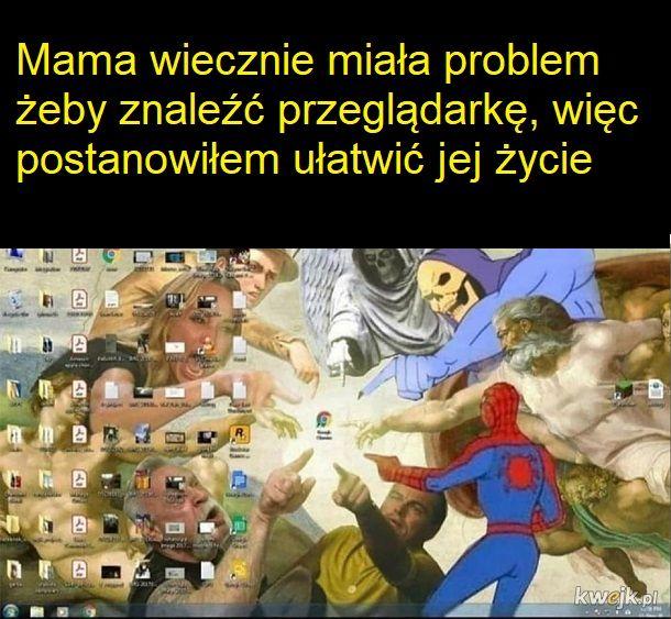 Pomogę mamo