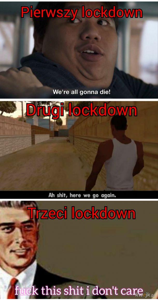 To już trzeci lockdown...