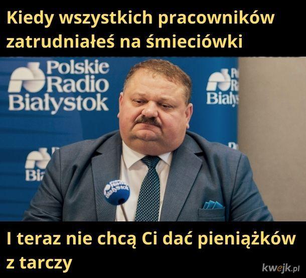 Smutny Januszek :(