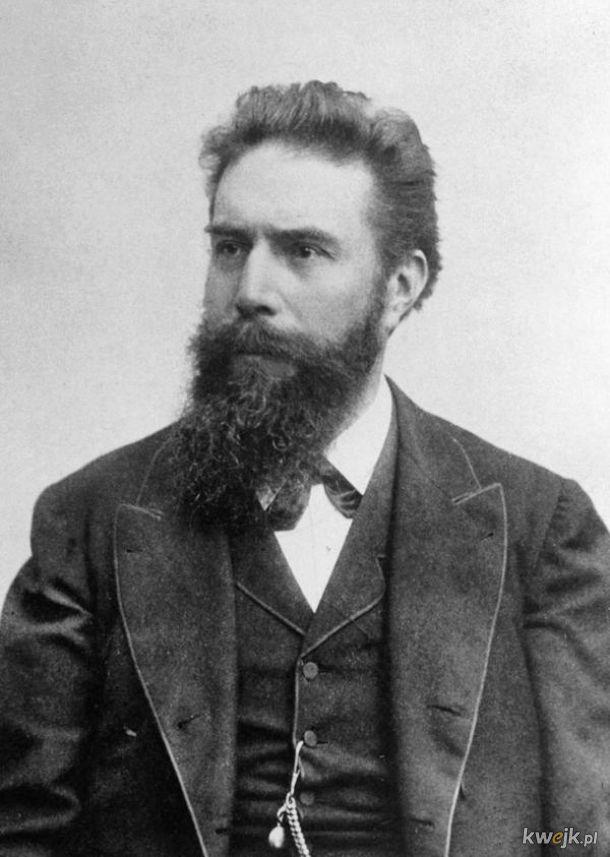Dziś mamy 176. rocznicę urodzin  Wilhelma Röntgena