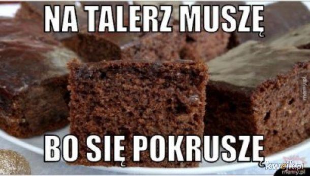Jakie smaczne ciastko