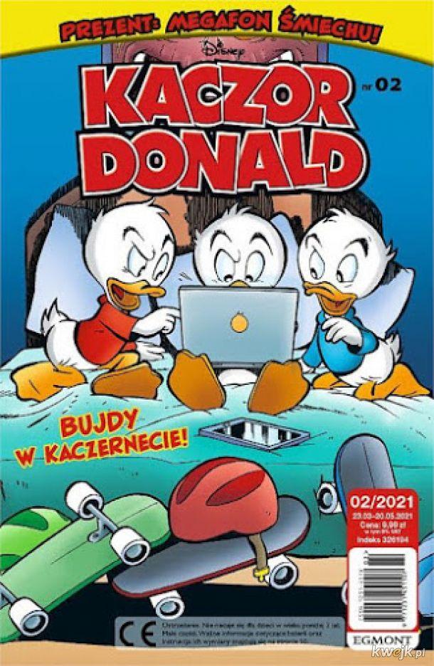 Kaczor Donald 2021-02 już w sprzedaży !