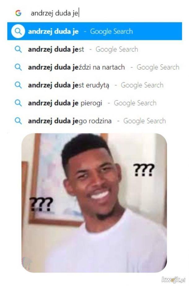 Google'u idź do domu, jesteś pijany