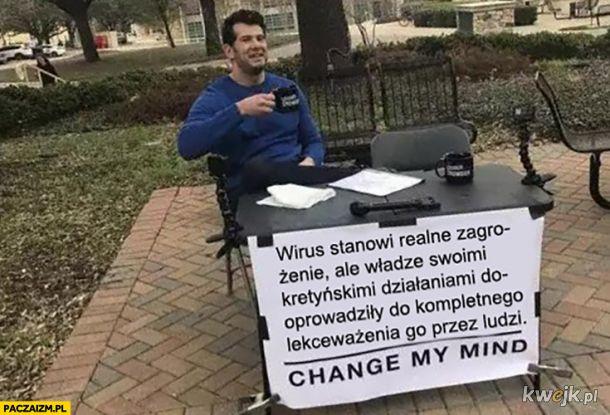 Wirus stanowi realne zagrożenie, ale...
