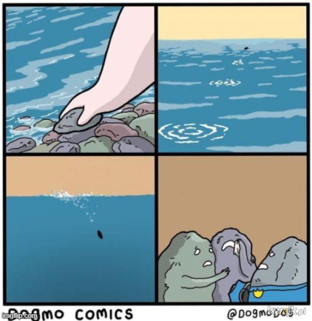 Jak kamień w wodę...