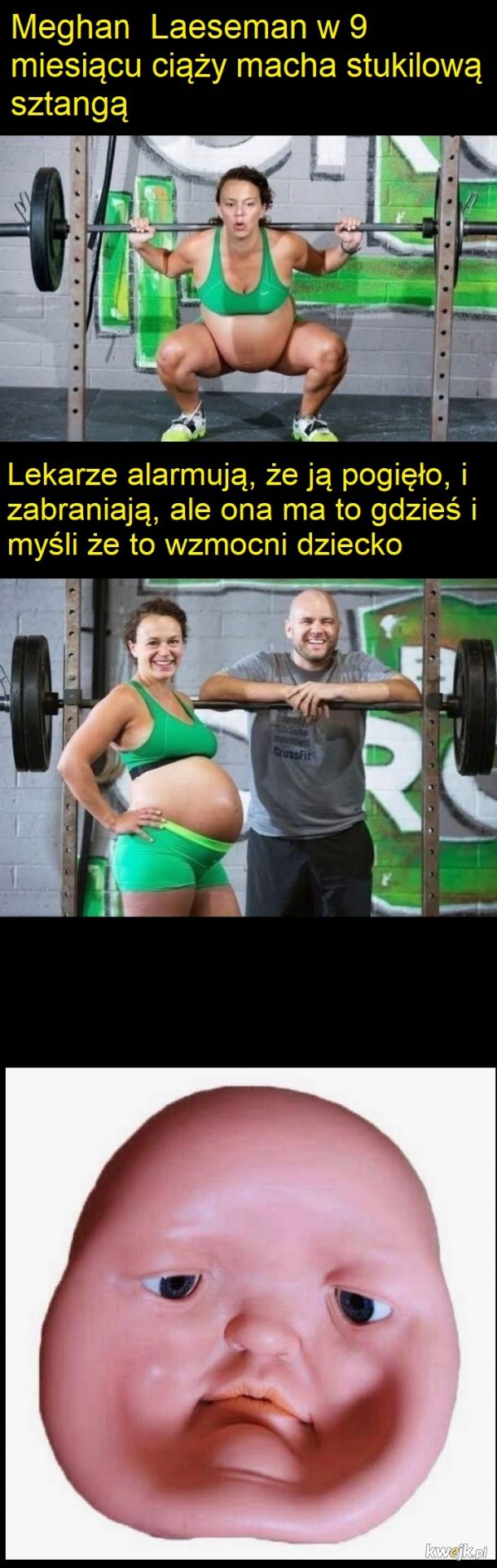 Silna mama... :/