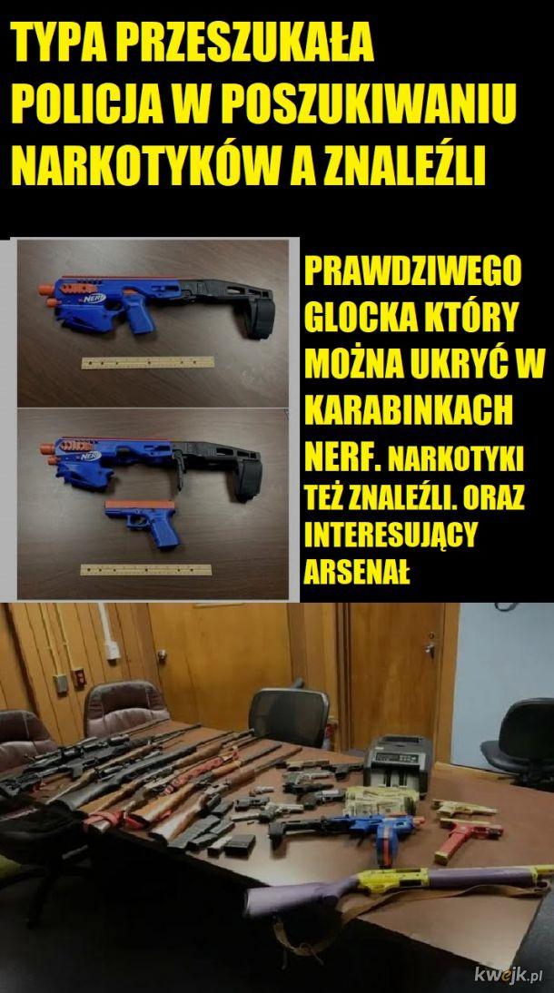 Zabawki przerobione na broń