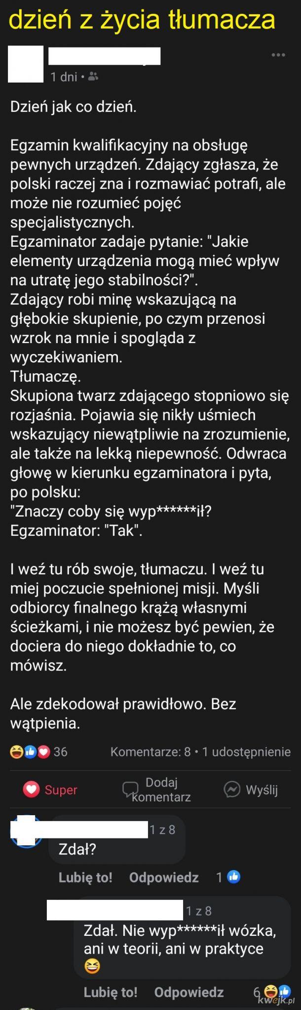 Przygody pani tłumaczki
