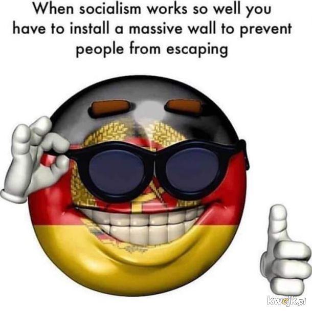 Działający socjalizm, co za żart
