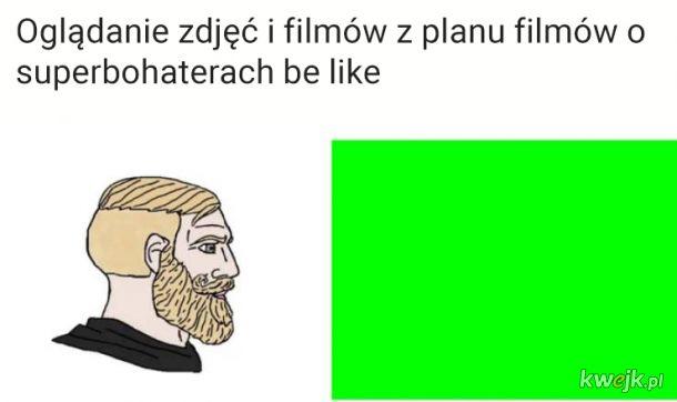 Mmm, zielony ekran