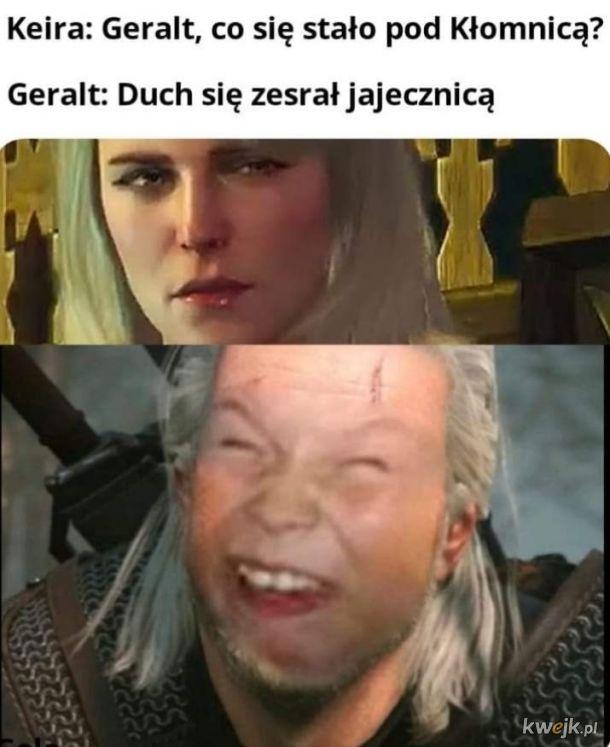 Geralt uber śmieszek