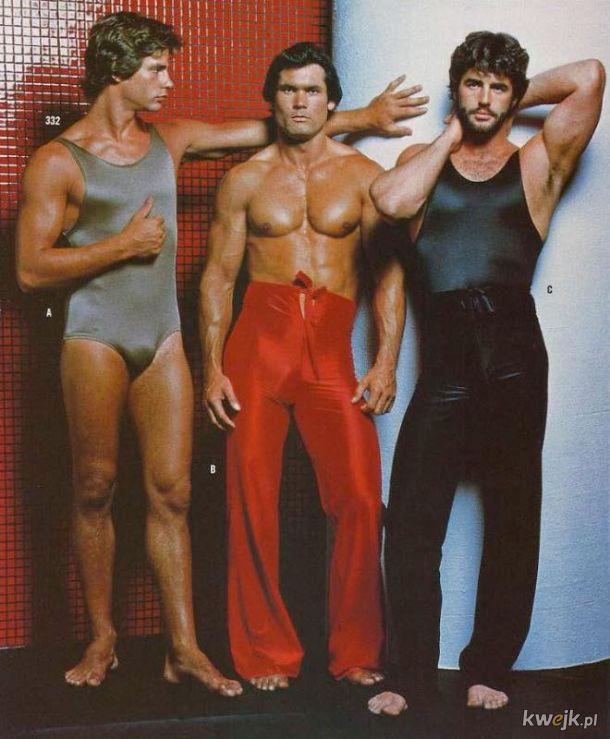 Moda męska z lat 70-tych