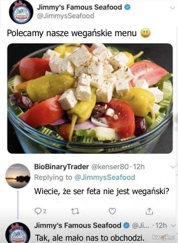 Wegańskie menu