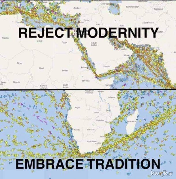 Odrzuć innowacje - kultywuj tradycje!