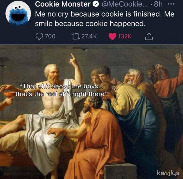 Ciasteczkowy potwór rzecze