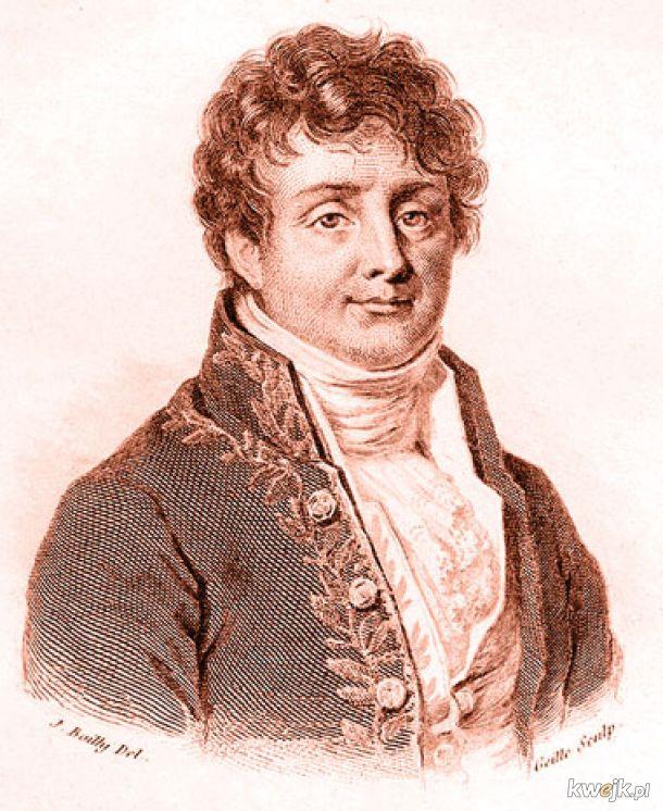 Dziś mamy 253. rocznicę urodzin Jean-Baptiste Fouriera