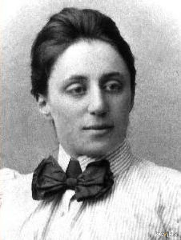 Dziś mamy 139. rocznicę urodzin Emmy Noether