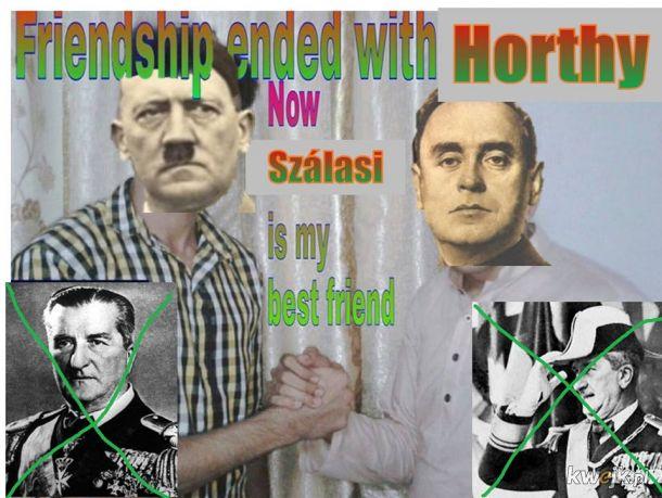 Gdy Horthy zaproponuje by może się poddać