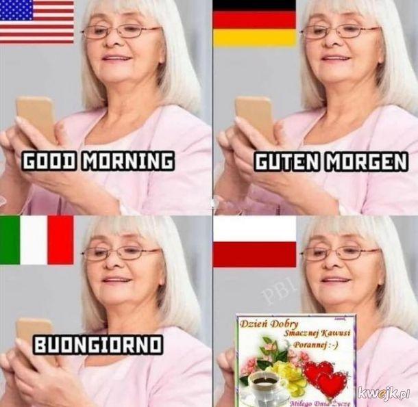 Dzień dobry po polsku