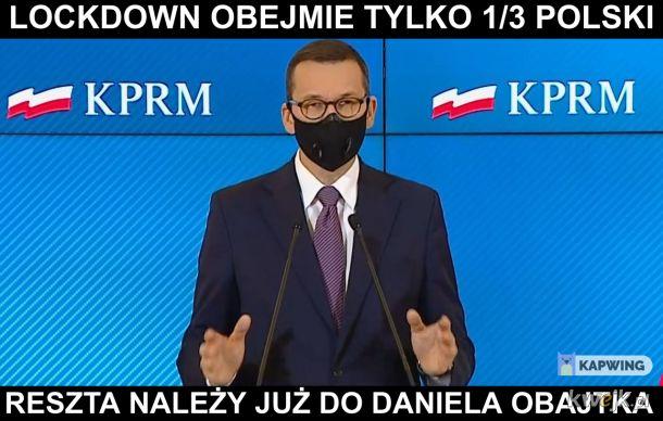 Lockdown na 1/3 Polski
