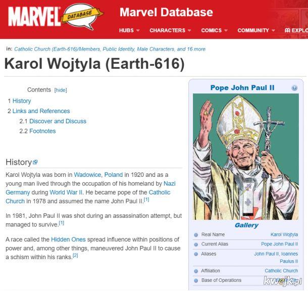 Dlaczego Marvel zostanie zbanowany w naszym kraju