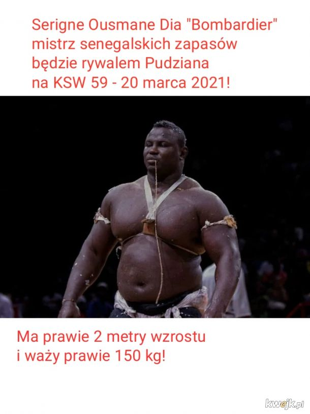 Bombardier, czyli najnowszy rywal Pudziana!
