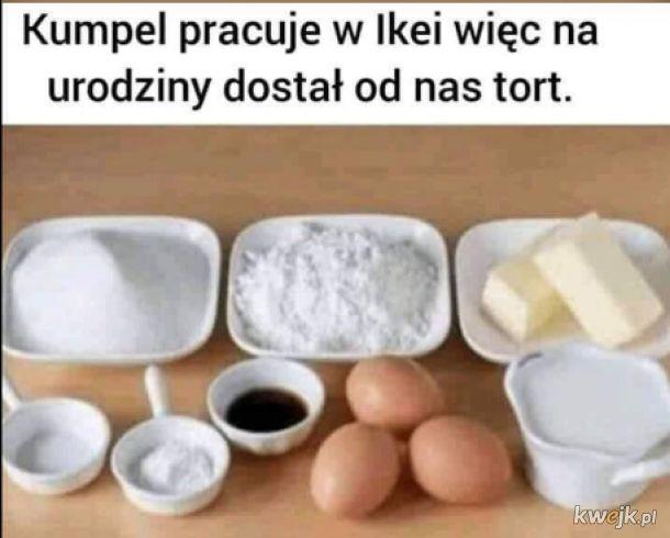 Tort z Ikei