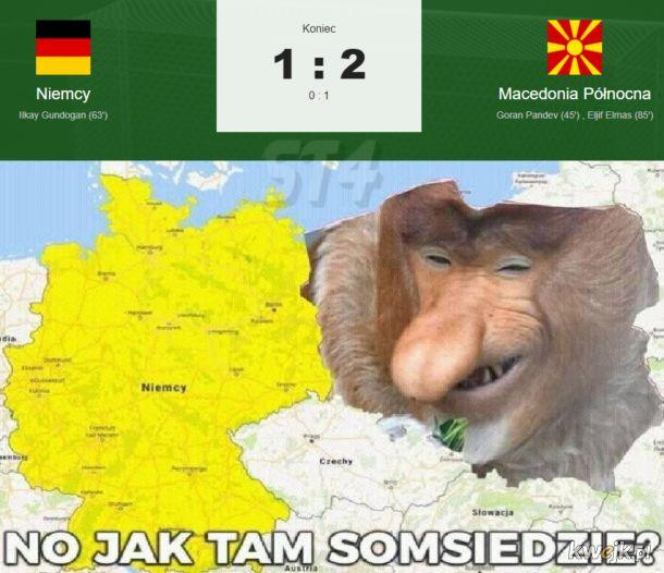 Ważne że Niemiec też przegrał