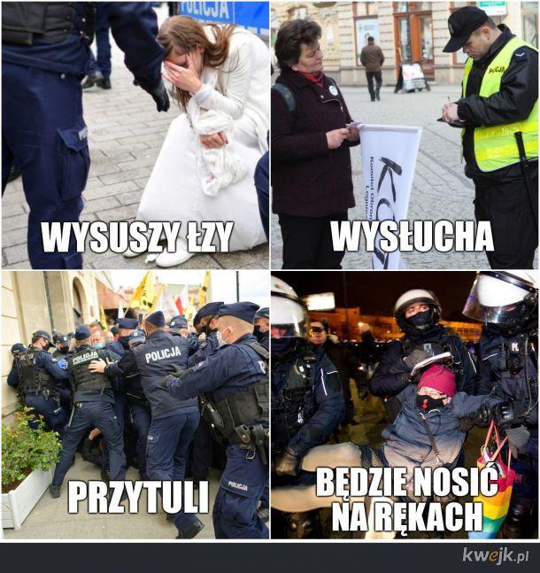 KOBIETO, KTO JEŚLI NIE POLICJANT?