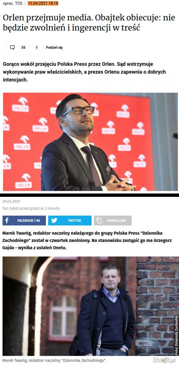Obajtkowanie mediów w Polsce według sprawdzonego schematu: obiecaj co chcą, rób z nimi co chcesz