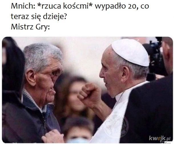 Mocarny Papież RPG
