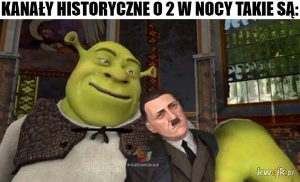 Nie ma dowodów na to, że Shrek wiedział o holokauście