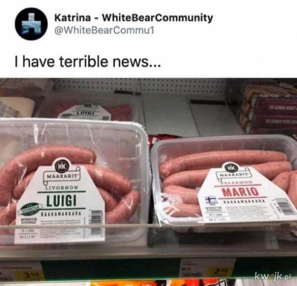 Straszne wieści
