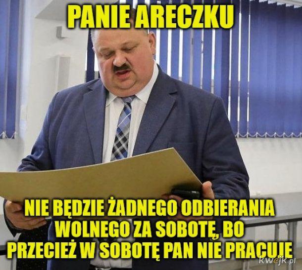 Biedny Areczek