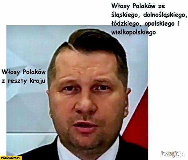 Włosy Polakuf