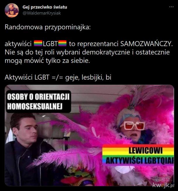 Środowiska LGBTQIAP+ traktują osoby homoseksualne jak mięso armatnie na swojej ideologicznej wojnie społecznej
