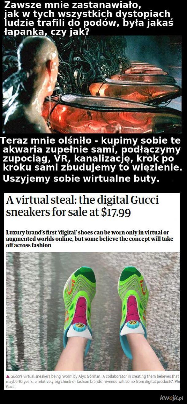 Uszyjemy wirtualne buty